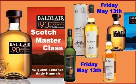 Scotch Master Class