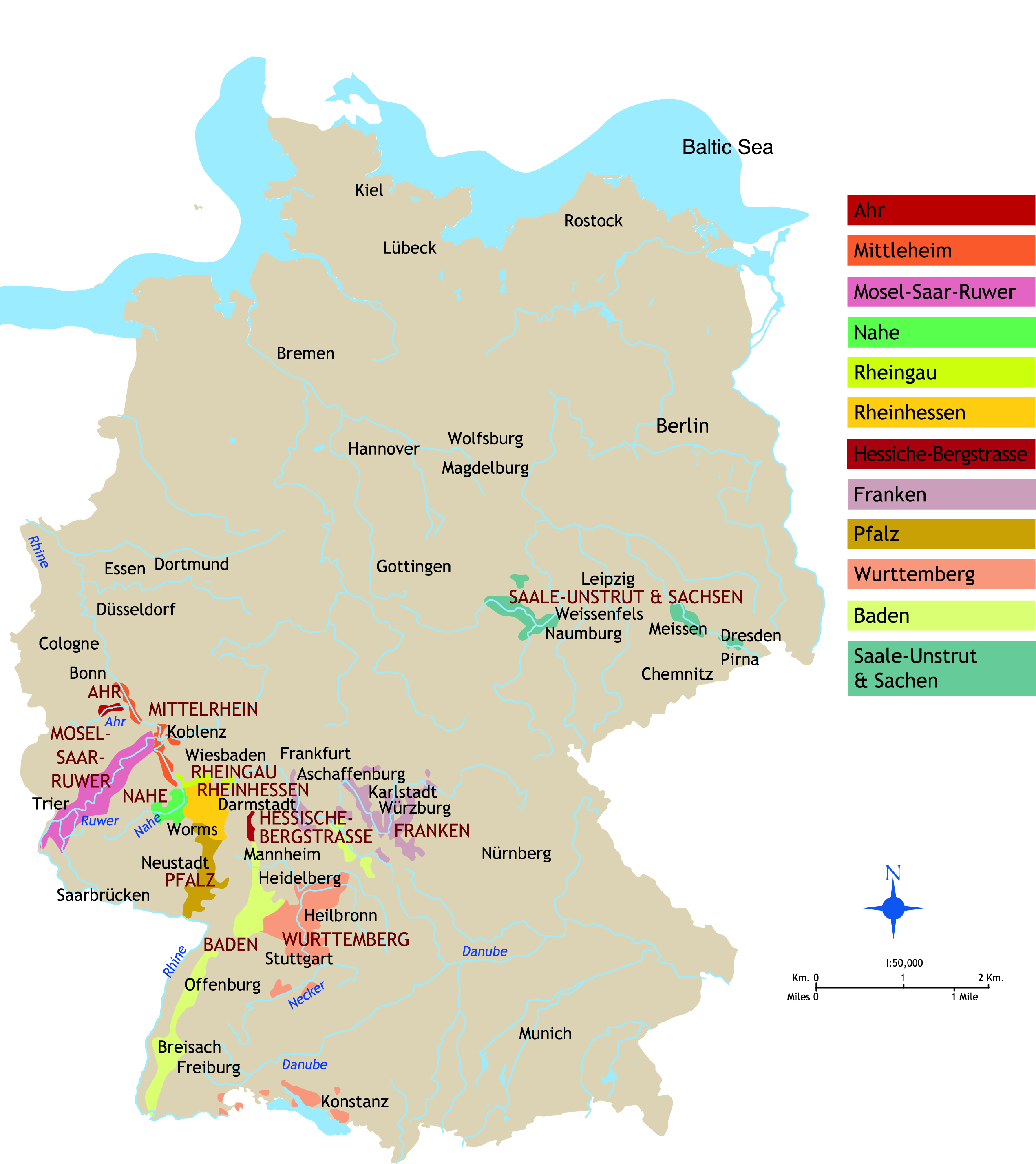 Regions Of Germany Map.Germany Archives Aries Fine Wine Spirits